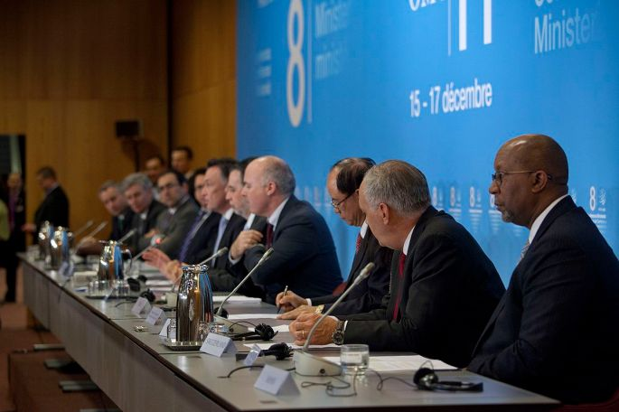 Press Conference for Countries Adopting an Anti-Protectionism Pledge